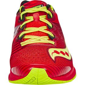 saucony Type A8 Shoes Men Red/Citron